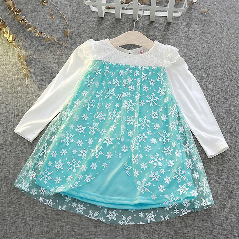 秋冬造型公主裙-艾莎