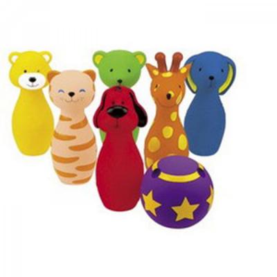 3 Colorful Bowling Friends 動物造型保齡球組